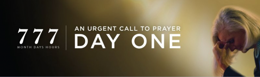 Urgent Call to Prayer