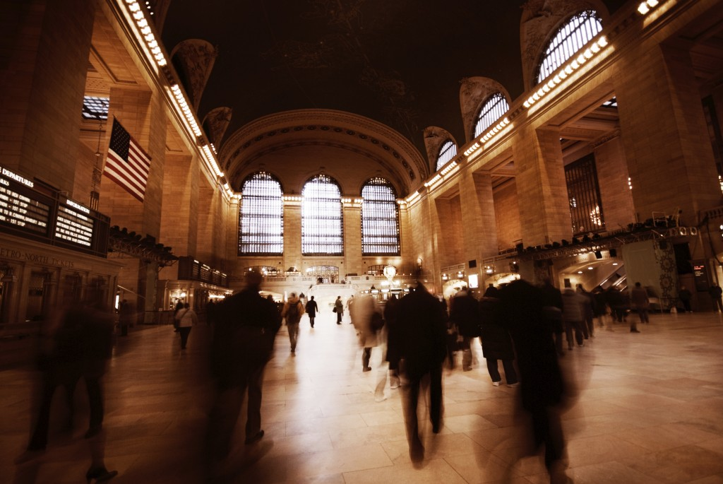 Rushing in Grand Central Terminal